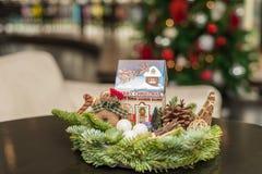 Рождество орнаментирует handmade Стоковое Фото