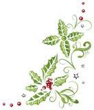 Рождество, падуб иллюстрация штока