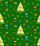 Рождество предпосылки безшовное Стоковая Фотография RF