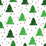 рождество предпосылки безшовное Стоковое Фото