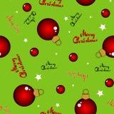 рождество предпосылки безшовное Стоковые Фотографии RF