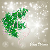 Рождество предпосылки вектора Стоковые Фотографии RF