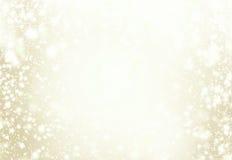 рождество предпосылки шикарное Золотой яркий блеск De конспекта праздника Стоковые Фотографии RF