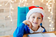 рождество ребенка счастливое Стоковая Фотография RF