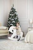 Рождество ребенка Стоковые Фото