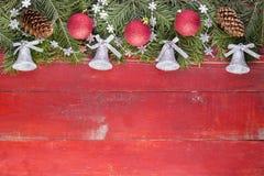 Рождество рождества предпосылк-веселое Стоковые Изображения