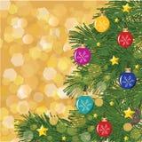 Рождество рук-тонет предпосылка Стоковые Изображения RF