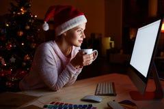 Рождество самостоятельно Стоковые Фотографии RF