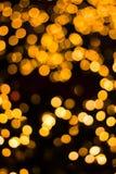 Рождество светлооранжевое на дереве Стоковая Фотография RF