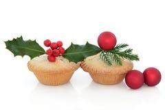 Рождество семенит пироги Стоковые Изображения RF
