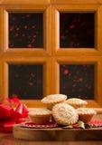 Рождество семенит пироги Стоковые Изображения