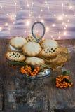 рождество семенит расстегаи традиционные Стоковое Фото