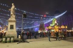 Рождество справедливое Стоковые Фото