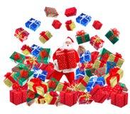 рождество счастливый santa Стоковая Фотография