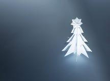рождество сделало бумажный вал Стоковая Фотография