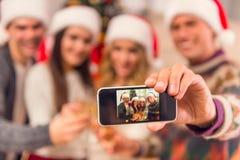 рождество торжества веселое Стоковое Изображение RF