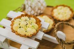 рождество торта традиционное цветы греют Стоковое Изображение RF