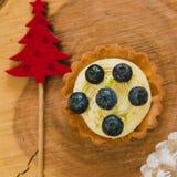 рождество торта традиционное цветы греют Стоковые Фотографии RF
