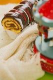 рождество торта традиционное Стоковые Изображения RF