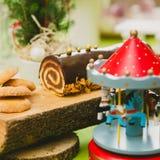 рождество торта традиционное Стоковые Изображения