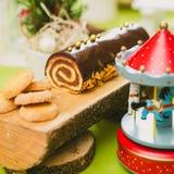 рождество торта традиционное Стоковое Изображение RF