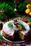 рождество торта традиционное Стоковая Фотография RF