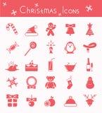 рождество украсило вал икон шерсти Стоковые Фотографии RF