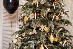 рождество украсило вал Чувство торжества стоковые фото