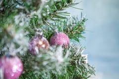 рождество украсило вал Стоковые Фотографии RF