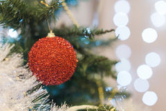 рождество украсило вал Стоковое Изображение RF