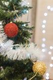 рождество украсило вал Стоковая Фотография RF