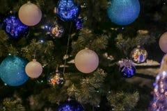 рождество украсило вал Стоковые Изображения RF