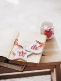 рождество украшает идеи деталей свежие домашние к Стоковое Изображение RF