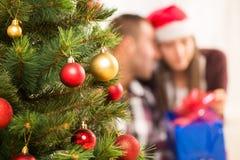 рождество украшает идеи украшения свежие домашние к Стоковые Изображения