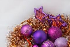 рождество украшает идеи украшения свежие домашние к стоковая фотография