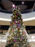 рождество украшает идеи украшения свежие домашние к стоковая фотография rf