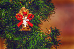 рождество украшает идеи украшения свежие домашние к Стоковое Изображение