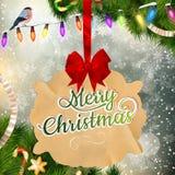 рождество украшает идеи украшения свежие домашние к 10 eps Стоковое Фото