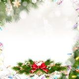 рождество украшает идеи украшения свежие домашние к 10 eps Стоковое фото RF