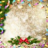рождество украшает идеи украшения свежие домашние к 10 eps Стоковые Изображения