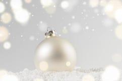 рождество шарика декоративное Стоковое Изображение RF
