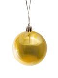 рождество шарика золотистое Стоковое фото RF