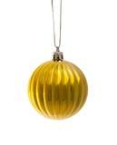 рождество шарика золотистое Стоковое Изображение