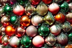 рождество шариков пестротканое Стоковые Фото