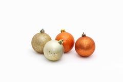 рождество 4 шариков Стоковые Изображения
