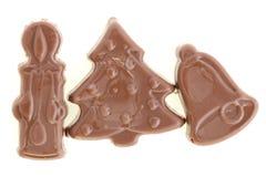 Рождество шоколада Стоковое Изображение