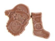 Рождество шоколада Стоковые Изображения