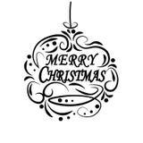 Рождество, ярлыки Нового Года праздничные для открыток Желать с Рождеством Христовым иллюстрацию иллюстрация вектора