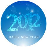 рождество 2012 карточек Стоковое фото RF