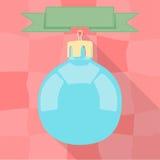 рождество bauble предпосылки 3d составило фотографическое реальное представляет Стоковое Изображение RF